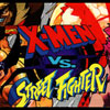 Xmen Vs Street Fighter marquee -chopped