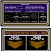 Asteroids Deluxe Cocktail Cardset psd