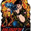 Rush N Attack  or Green Beret Sideart